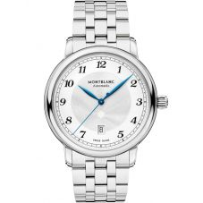 Montblanc Mens Star Legacy Automatic Date Bracelet Watch 117324