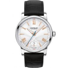 Montblanc Mens 4810 Automatic Date Leather Strap Watch 114841
