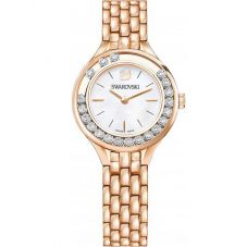 Swarovski Lovely Crystals Mini Rose Gold Tone Bracelet Watch 5261496