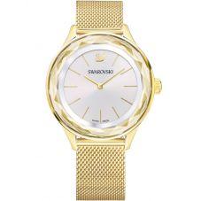 Swarovski Octea Nova Gold Tone Mesh Watch 5430417