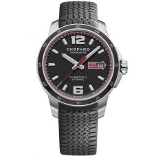 Chopard Mens Mille Miglia GTS Automatic Black Strap Watch 168565-3001