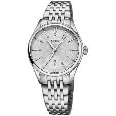 Oris Ladies Artelier Diamond Bracelet Watch 561 7724 4051-07 8B