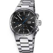Oris Mens Williams Chronograph Date Bracelet Watch 774 7717 4154-07B