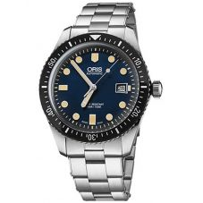 Oris Mens Divers Sixty-Five Bracelet Watch 733 7720 4055-07 8 21 18