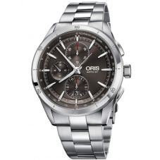 Oris Mens Artix GT Chronograph Date Grey Bracelet Watch 774 7750 4153-07 8 22 87