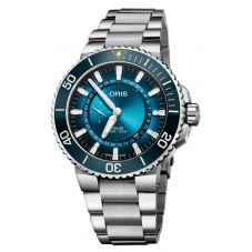 Oris Mens Aquis Great Barrier Reef Limited Edition III Watch 743 7734 4185-SET MB
