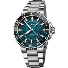 Oris Mens Limited Edition Aquis Whale Shark Watch 01 798 7754 4175-SET