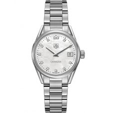 TAG Heuer Ladies Carrera Quartz Bracelet Watch WAR1314.BA0773