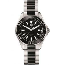 TAG Heuer Ladies Aquaracer Quartz Black Bracelet Watch WAY131A.BA0913
