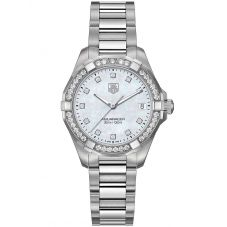 TAG Heuer Ladies Aquaracer Quartz Diamond-set Bracelet Watch WBD1315.BA0740