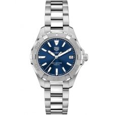 TAG Heuer Ladies Aquaracer Quartz Blue Bracelet Watch WBD1312.BA0740