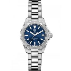 TAG Heuer Ladies Aquaracer Quartz Small Blue Bracelet Watch WBD1412.BA0741