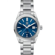 TAG Heuer Ladies Carrera Quartz Blue Bracelet Watch WBG1310.BA0758
