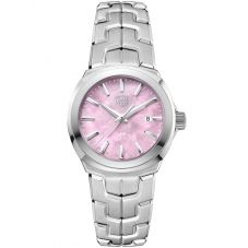 TAG Heuer Ladies Link Quartz Pink Bracelet Watch WBC1317.BA0600