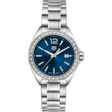 TAG Heuer Ladies Formula 1 Quartz Diamond Blue Dial Bracelet Watch WBJ1416.BA0664
