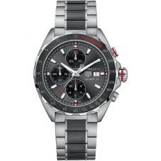 TAG Heuer Mens Formula 1 Calibre 16 Chronograph Black Bracelet Watch CAZ2012.BA0970