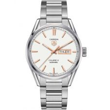 TAG Heuer Mens Carrera Calibre 5 Day Date Bracelet Watch WAR201D.BA0723