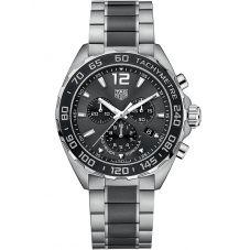 TAG Heuer Mens Formula 1 Quartz Chronograph Black Bracelet Watch CAZ1011.BA0843