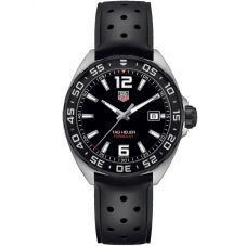 TAG Heuer Mens Formula 1 Quartz Rubber Strap Watch WAZ1110.FT8023