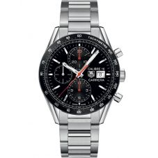 TAG Heuer Mens Carrera Calibre 16 Chronograph Bracelet Watch CV201AK.BA0727