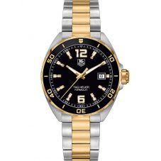 TAG Heuer Mens Formula 1 Quartz Two Tone Bracelet Watch WAZ1121.BB0879