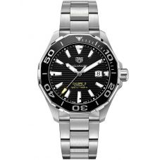 TAG Heuer Mens Aquaracer Calibre 5 Ceramic Black Dial Bracelet Watch WAY201A.BA0927
