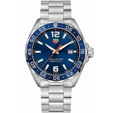 TAG Heuer Mens Formula 1 Quartz Blue Dial Bracelet Watch WAZ1010.BA0842