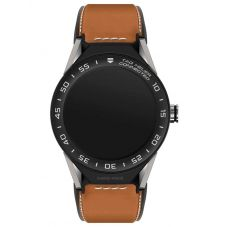 TAG Heuer Mens Connected Modular 45 Brown Smartwatch SBF8A8001.11FT6110