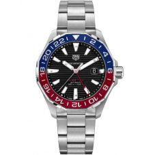 TAG Heuer Mens Aquaracer Calibre 7 GMT Multi-Coloured Bracelet Watch WAY201F.BA0927