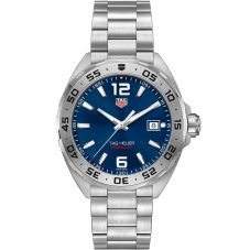 TAG Heuer Mens Formula 1 Quartz Blue Dial Bracelet Watch WAZ1118.BA0875