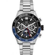 TAG Heuer Mens Carrera Heuer02 GMT Chronograph Watch CBG2A1Z.BA0658
