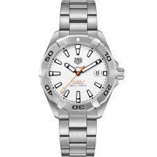 TAG Heuer Mens Aquaracer Calibre 5 White Bracelet Watch WBD2111.BA0928