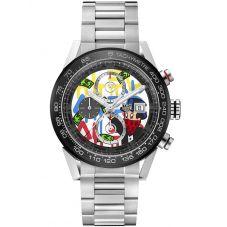 TAG Heuer Carrera Calibre 01 Special Edition Alec Monopoly Bracelet Watch CAR201AA.BA0714