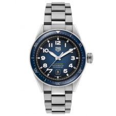TAG Heuer Mens Autavia Automatic Chronometer Smoked Blue Dial Stainless Steel Bracelet Watch WBE5116.EB0173