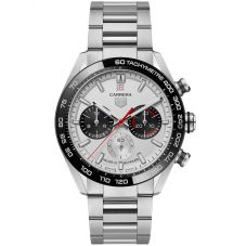 TAG Heuer Mens Limited Edition Carrera 160 Years Anniversary Silver Watch CBN2A1D.BA0643