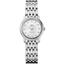 Omega Ladies De Ville Prestige Quartz Diamond Bracelet Watch 424.10.24.60.55.001