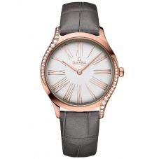 OMEGA Ladies De Ville Tresor 18ct Rose Gold Diamond Watch 428.58.36.60.02.001
