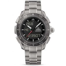 Omega Mens Speedmaster Skywalker X-33 Titanium Bracelet Watch 318.90.45.79.01.001