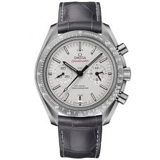 OMEGA Mens Speedmaster Moonwatch Leather Strap Watch 311.93.44.51.99.001