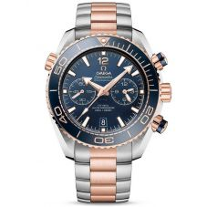 OMEGA Mens Seamaster Planet Ocean Chronograph Bracelet Watch 215.20.46.51.03.001