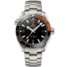 Omega Mens Seamaster Planet Ocean Black Bracelet Watch 215.30.44.21.01.002