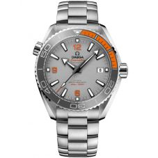 Omega Mens Seamaster Planet Ocean Orange Titanium Bracelet Watch 215.90.44.21.99.001