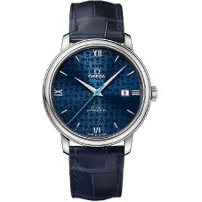 OMEGA Mens De Ville Prestige Leather Strap Watch 424.13.40.20.03.003