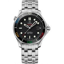 OMEGA Mens Seamaster Rio 2016 Olympics Limited Edition Bracelet Watch 522.30.41.20.01.001