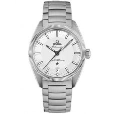 Omega Mens Constellation Globemaster Bracelet Watch 130.30.39.21.02.001