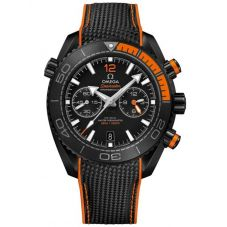 Omega Mens Seamaster Planet Ocean Rubber Strap Watch 215.92.46.51.01.001