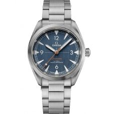OMEGA Mens Seamaster Aqua Terra Blue Watch 220.10.40.20.03.001
