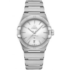 OMEGA Constellation Co-Axial Master Chronometer 39mm Silver Bracelet Watch 131.10.39.20.02.001