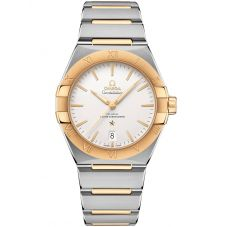 OMEGA Constellation Co-Axial Master Chronometer 39mm Two Tone Bracelet Watch 131.20.39.20.02.002