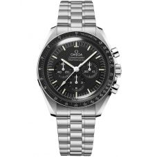 OMEGA Mens Speedmaster Moonwatch Professional Co-Axial Master Chronometer Black Bracelet Watch 310.30.42.50.01.001